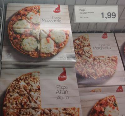 пицца 1,99 за шт