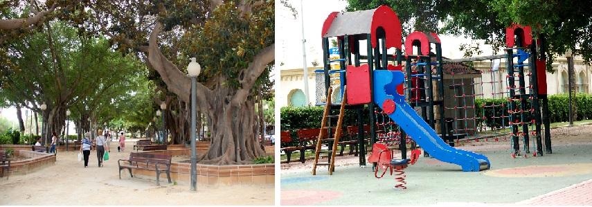 детские площадки в испании_в парке