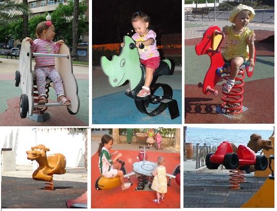 детские площадки в испании_пружинки